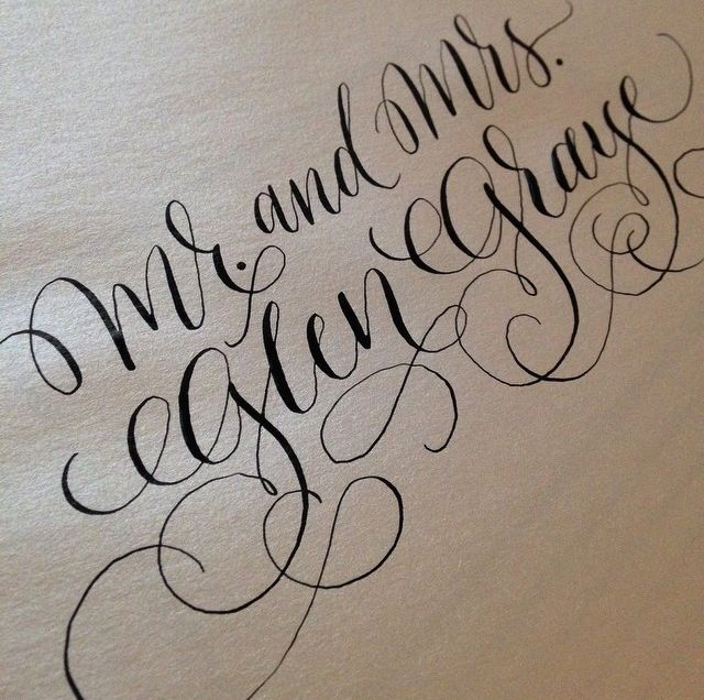27 Best Images About Fake Calligraphy On Pinterest