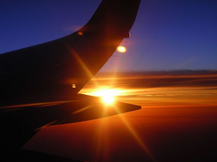 A sunrise on the altitude of 10,000 metres, somewhere over Europe. The only known advantage of taking-off at 4 a.m. ;-)