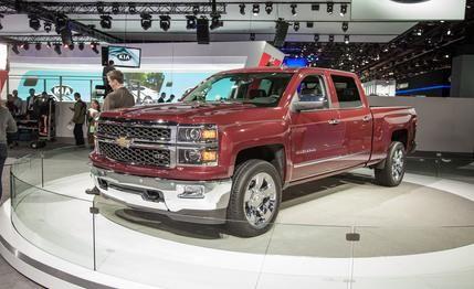 Chevrolet Silverado brand new 2014 models with enhanced fuel economies via high tech engines and transmissions