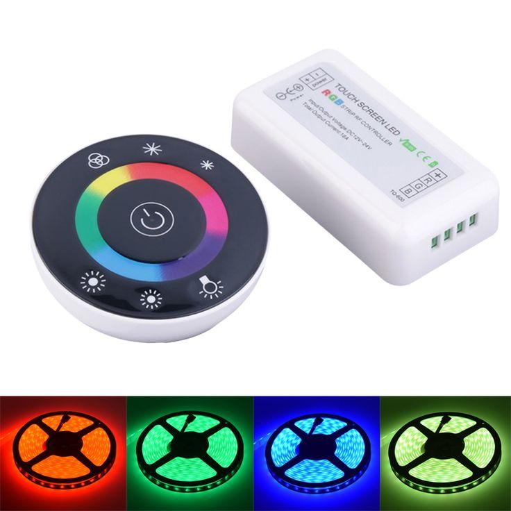 LED RGB Controller RF Controler DC12V/24V 18A 2.4G RGB