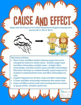 what is meant by cause and effect relationship