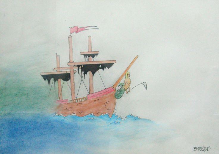 """""""El fantasma del buque de carga"""" (Neruda)"""