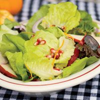 Red Pear, Grape, Pecan Salad - from Country Living