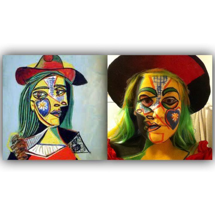 Picasso Halloween costume