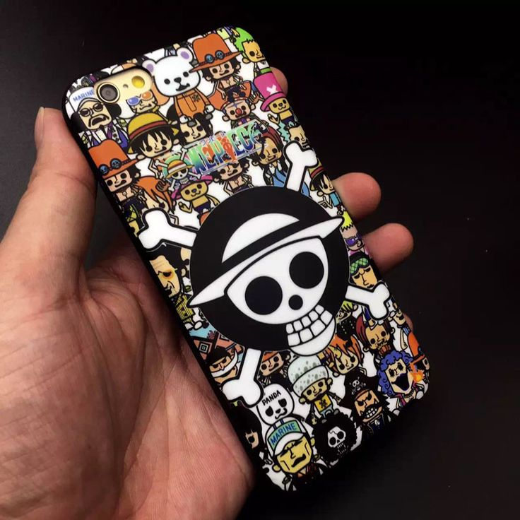 One Piece Soft Gel Phone Cover For iPhone //Price: $12.98 & FREE Shipping //   #dragonballz #anime