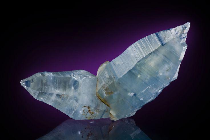 Corundum var. Sapphire  Ratnapura, Sri Lanka  8cm