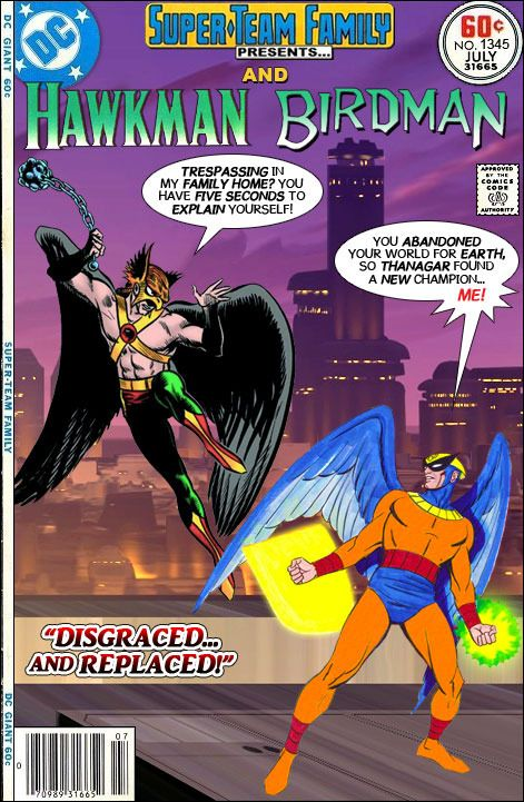 Super Team Family The Lost Issues Hawkman And Birdman