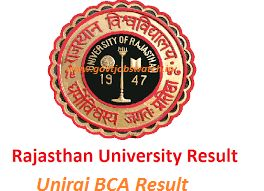 Check Here Uniraj bca Exam result, Uniraj RU BCA Result 2017, Rajasthan University Result 2017, Ru bca 1st year 2nd year 3rd year Result 2017, @uniraj.ac.in
