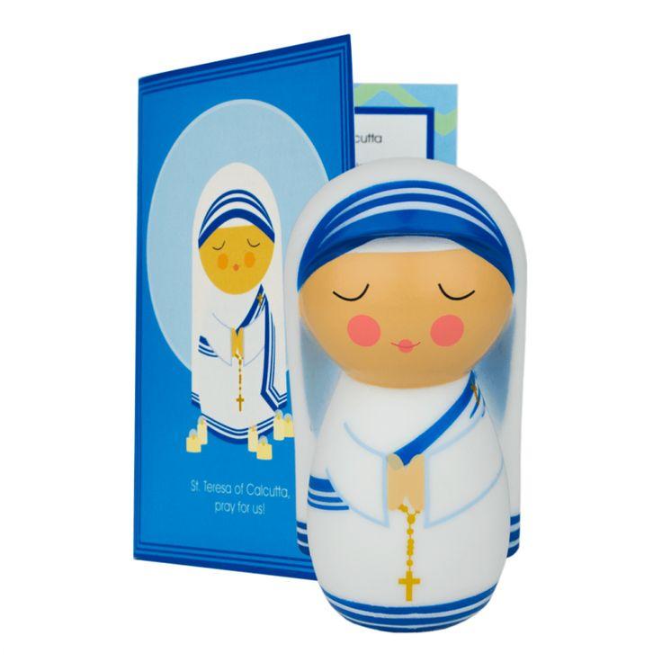 Saint Mother Teresa of Calcutta Shining Light Doll