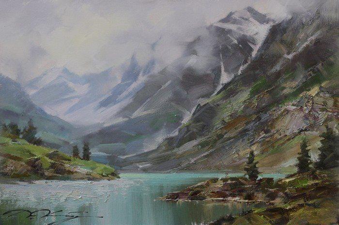Денис Октябрь  Lake in the mountains (Altai)