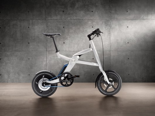 Foldable, wheelable, electric bike from BMW