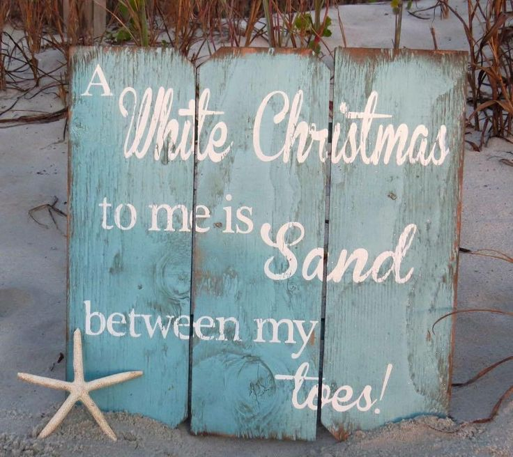 Summer time Christmas for Aussies means a beach is our white Christmas :)
