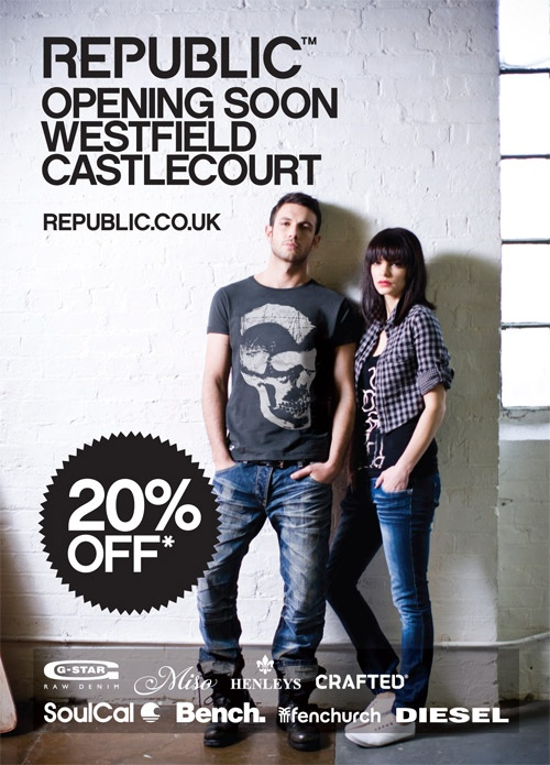 New Store Opening Soon! Westfield Castlecourt – Belfast | Fashion Tips For Women, Mens Fashion Trends, High Street Fashion Blog by Republic |The Edit