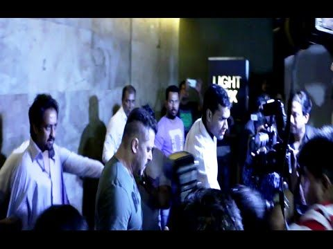 Salman Khan BADLY MOBBED at special screening of SULTAN movie.
