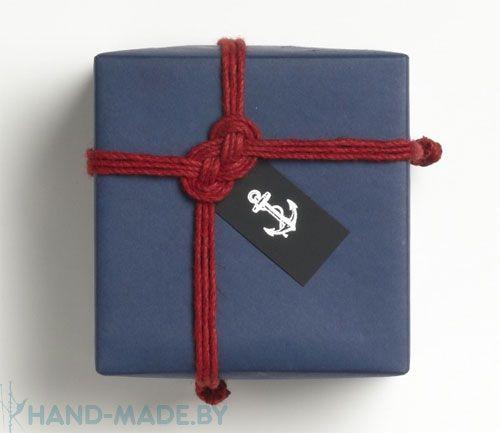 упаковка подарка мужчине