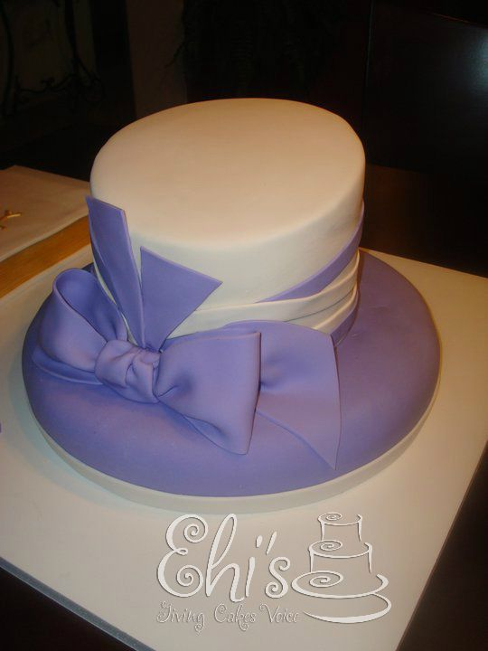 church hat cake   tier Church Hat Cake