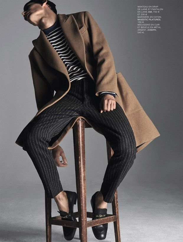 Thibaud Charon for L'Express Styles by Raf Stahelin