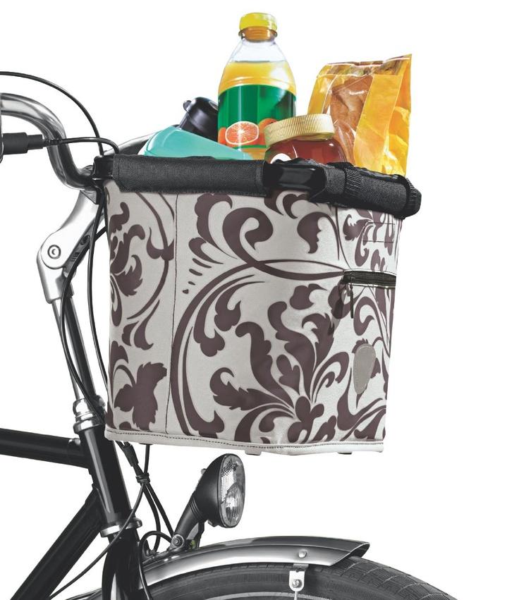 Rowerem na zakupy do Lidla… po rowerowy koszyk na zakupy.
