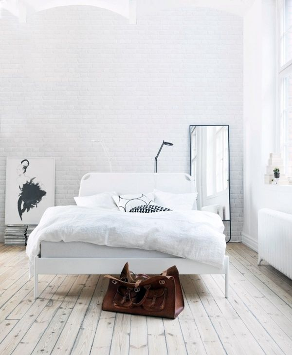 39 best ☽ witte slaapkamers ☾ images on pinterest, Deco ideeën