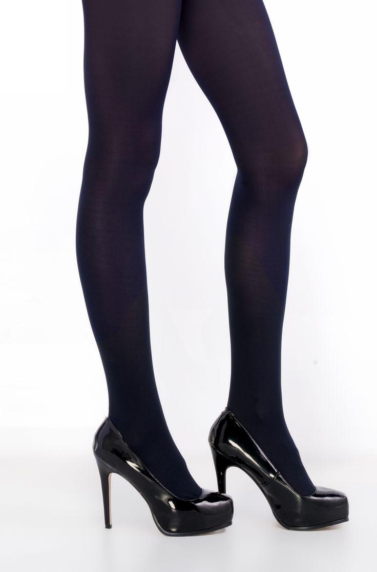 Tmavě modré punčochové kalhoty Penti Mikro 40