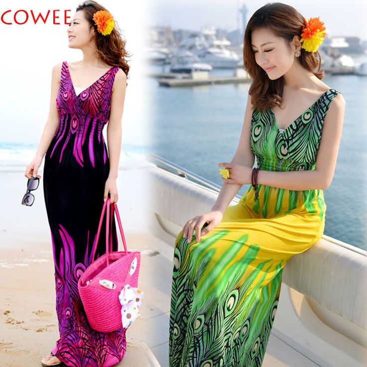 Summer women's 2014 tube top suspender bohemia beach dress high quality full dress one-piece dress