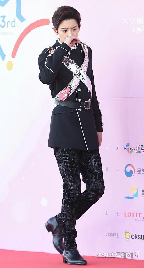 [170603] 2017 Dream Concert Red Carpet #Chanyeol #EXO