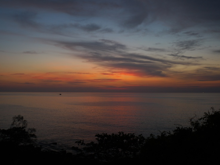 Sunset over Koh Kood