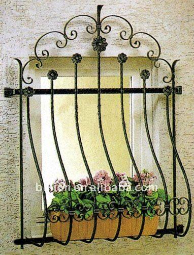 Resultado de imagen para balcones ventanas hierro forjado