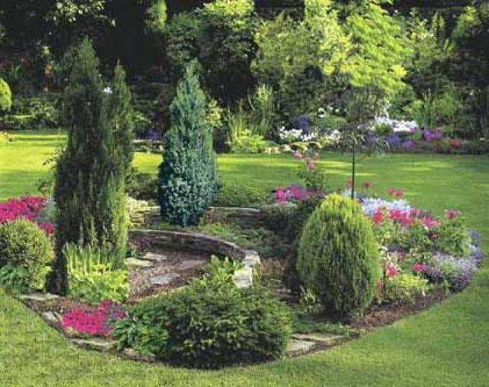 Хвойные растения в ландшафтном дизайне: вечнозеленый сад из хвойников (30 фото) | Декор сада | DecorWind.ru