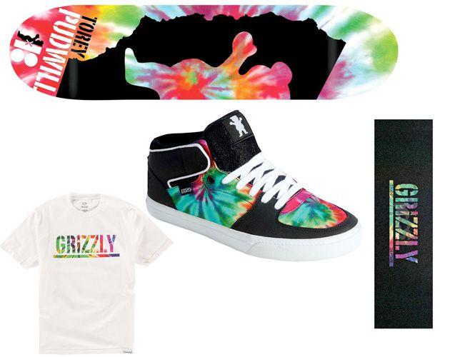 OMG!!!!!! #DVS Torey Mid x #Grizzly 'Tie-Dye'