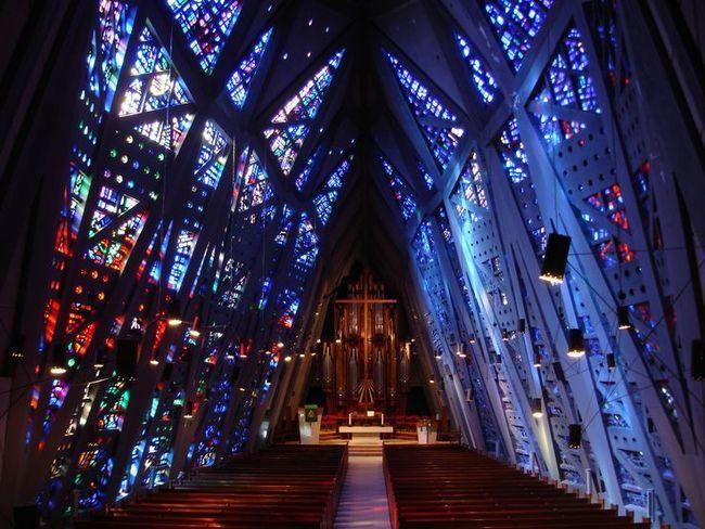 "The First Presbyterian Church of Stamford, aka ""The Fish Church"" architect Wallace K Harrison"