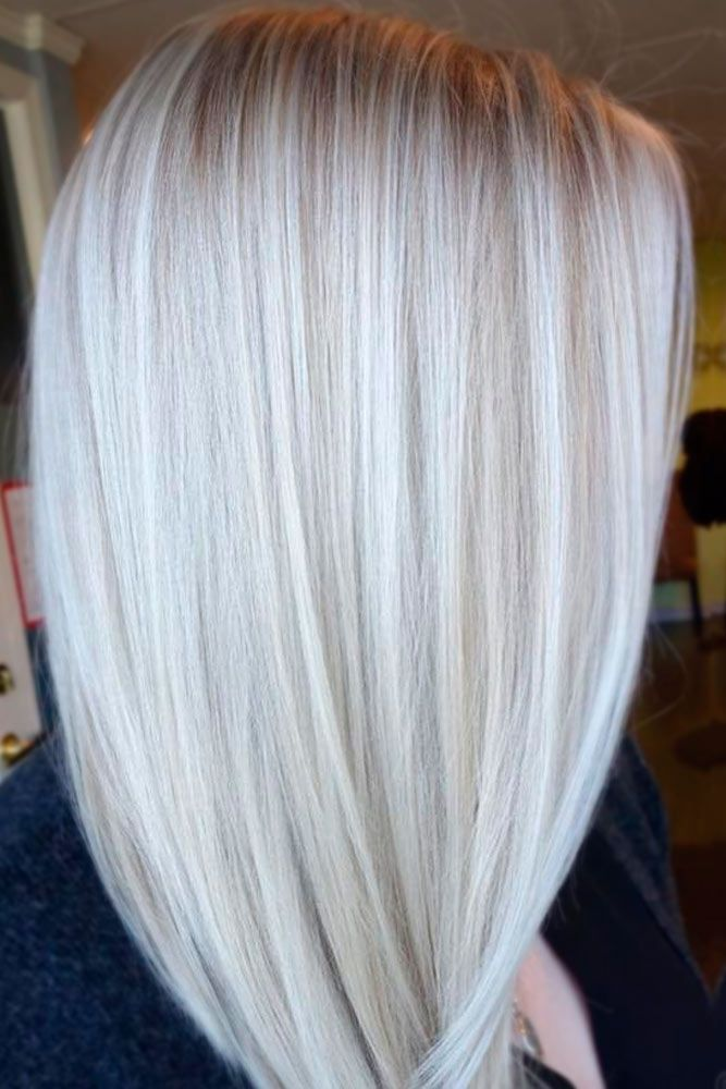 Platinum Blonde Highlights On Pinterest Platinum ...