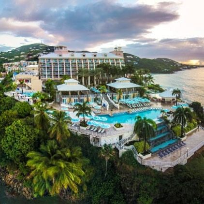 You've arrived at your destination! #AdventuresatTheReef #StThomas #USVI #Caribbean #resort #travel