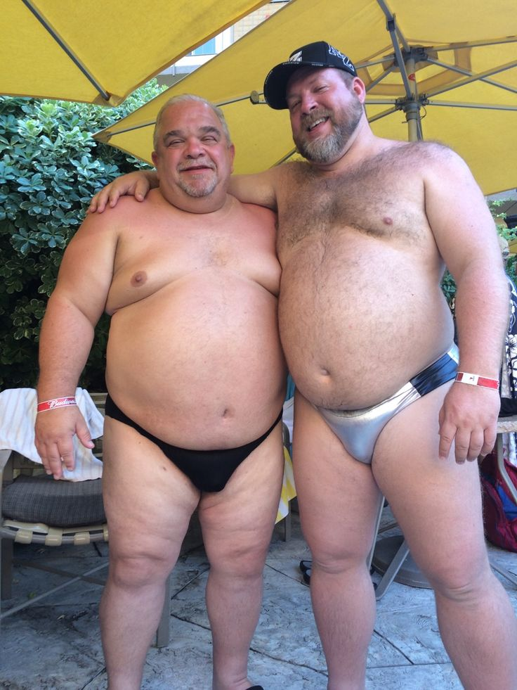 Chubby old straight men