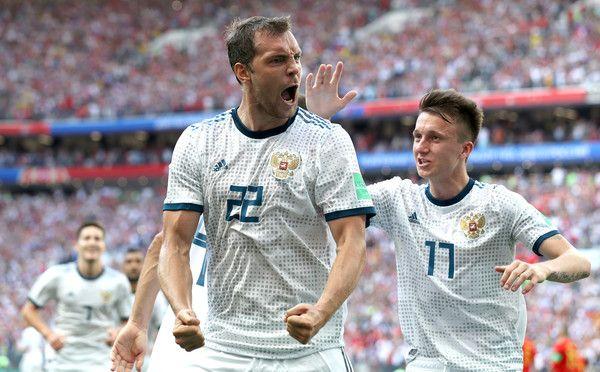Artem Dzyuba Photos Photos Spain Vs Russia Round Of 16 2018 Fifa World Cup Russia V 2020 G Futbolisty Futbol Rossiya