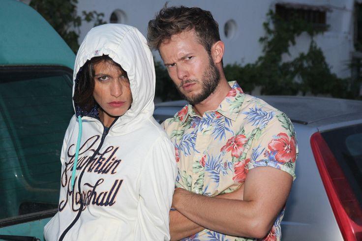 Giulia Bevilacqua & Paolo Stella #actors #FullMoonPonzaFestival