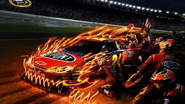 Amazing Fire Sports Car | HD Wallpaper World