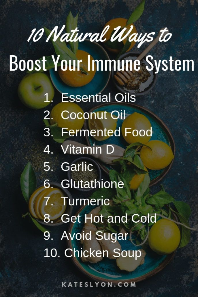 Ten Ways To Boost Your Immune System With Images Immune