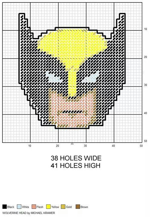 Wolverine wall hanging by Michael Kramer