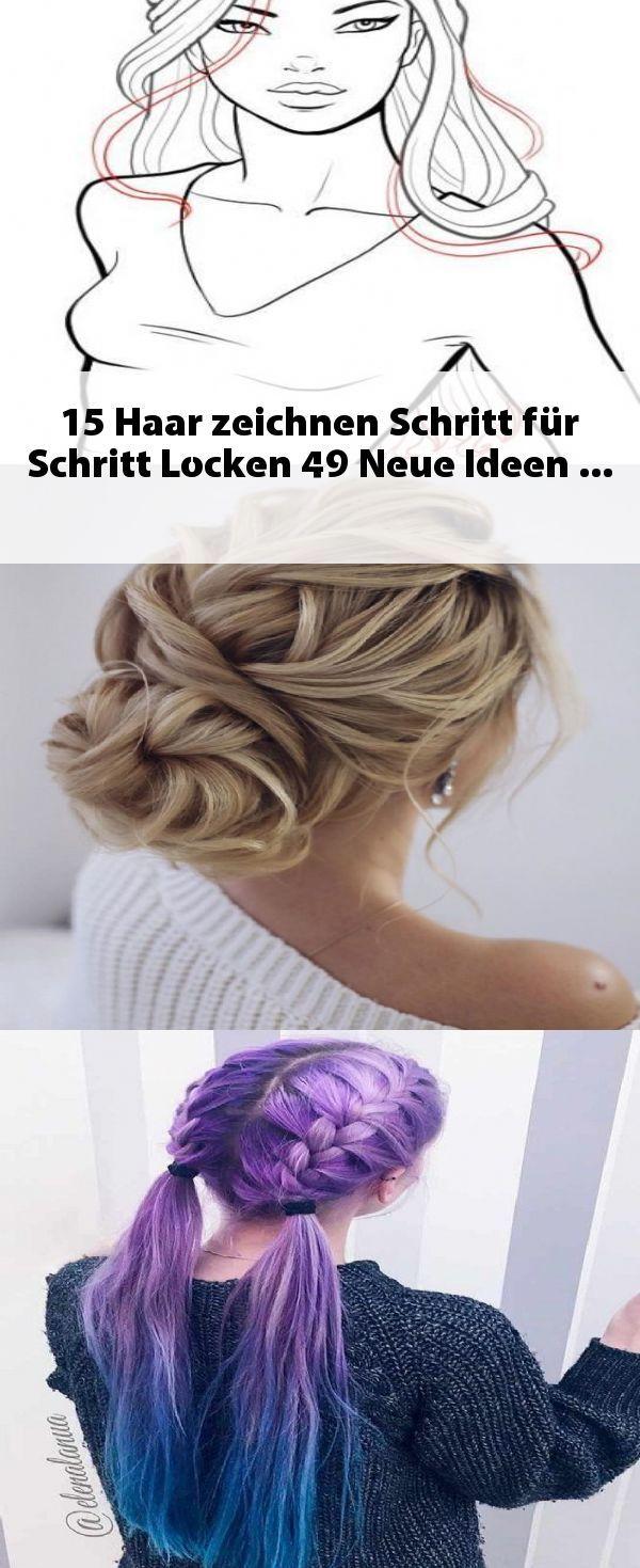 15 Haar Zeichnen Schritt Fur Schritt Locken 49 Neue Ideen Locken Machen Haare Zeichnen Haartutorial