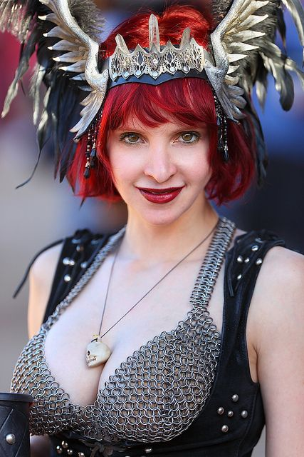 Beautiful Michelle Chain Mail Bikini Girl 2012 Arizona Renaissance Festival (ARF) | Flickr - Photo Sharing!
