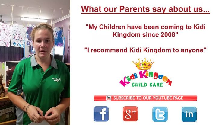 "Happy Parent says "" I recommend Kidi Kingdom to anyone ""  #ChildCare #Kindergarten #Children #Child #Kid #Kids #Fun #Happy"