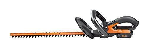 "WORX 20V Cordless Hedge Trimmer, 20"", Battery and Charger Included"