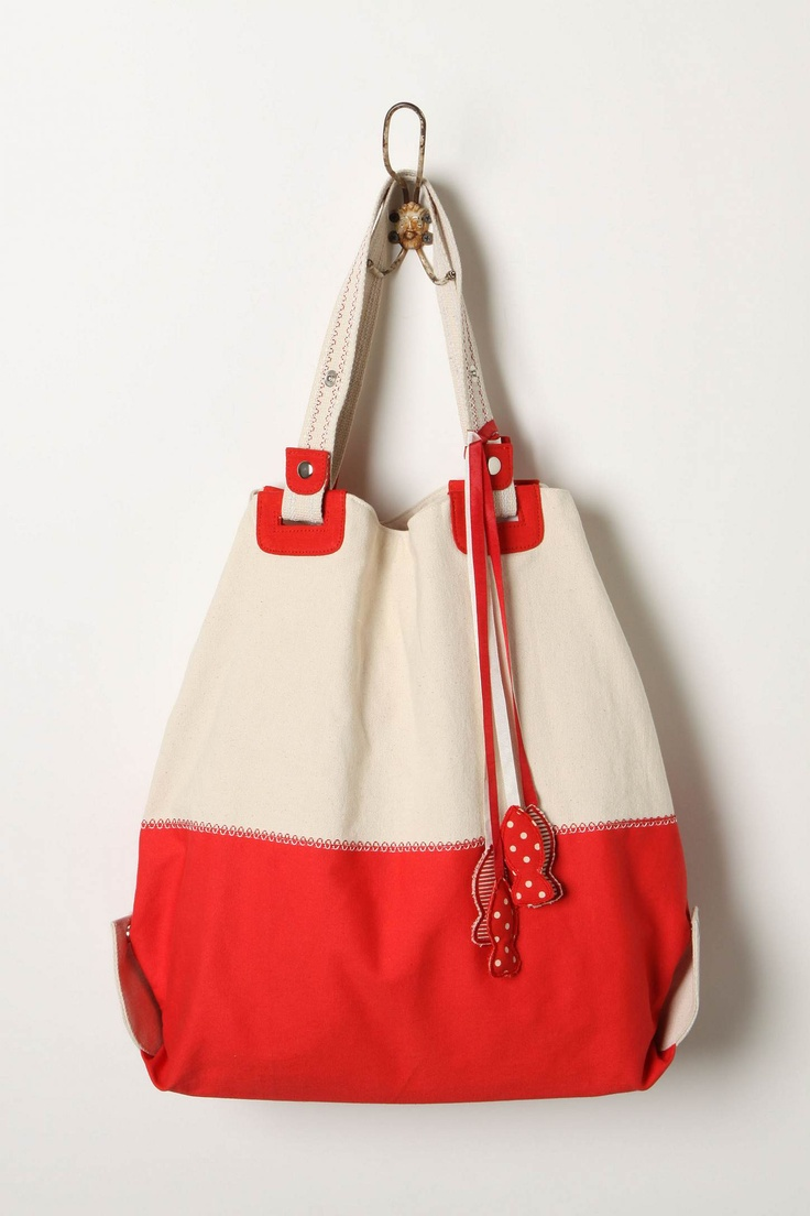 Anthropologie Tackle Box Tote $78