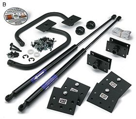 Fold-Down Bed Hardware Kits - Lee Valley Tools