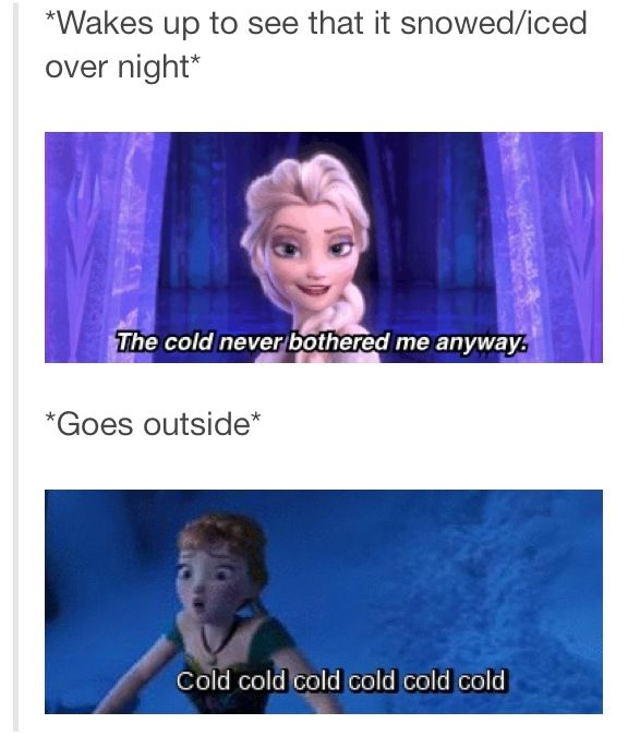 I feel like this is my life. Through the entire summer, I pray for winter to hurry up and arrive. Then, as soon as it arrives, I am ready for summer to come back.