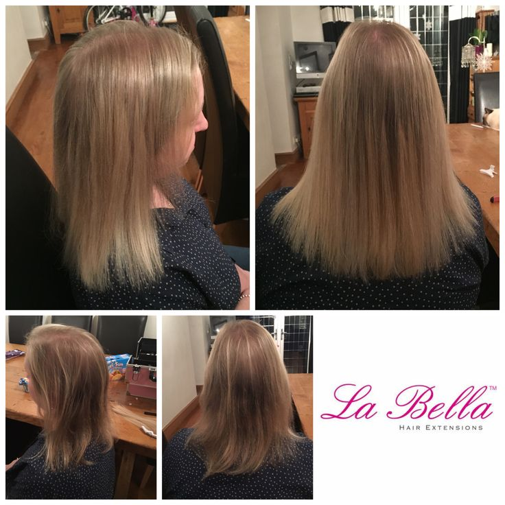 122 best la bella nano ring hair extensions before and after 14 head 8 european hair hand made la bella hair extensions pmusecretfo Images