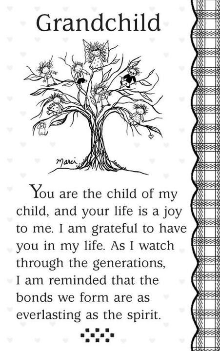 Grandbaby......you are the child of our child....No blessing could be greater in our lives! We are beyond blessed with our Grandbaby and doubly blessed by our Great Nieces!! Our whole family is so blessed by babies, babies everywhere! Can't wait til our huge family Christmas celebration this year!!