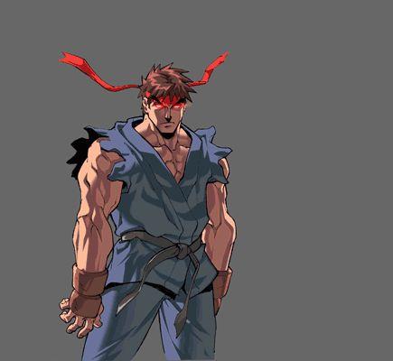 Evil Ryu Animations 3