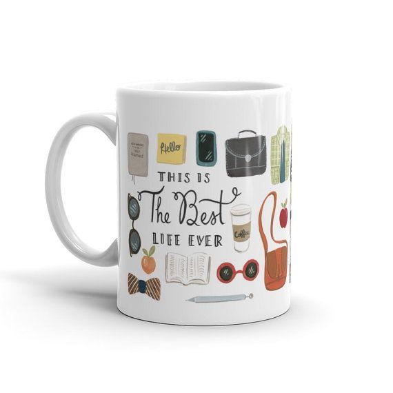 The Best Life Ever Ministry Essentials Mug, JW Coffee and Tea Mug, JW Gift, Field Service, Pioneer Gift